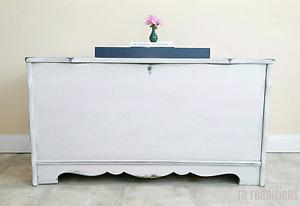 Refinished antique cedar chest