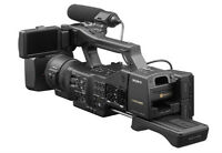 Sony NEX-EA50 NSCAM Camcorder with 18-105mm f/4 Servo Zoom