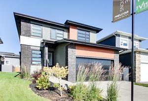 Modern Two Storey Show home with Bonus room- The Vista's