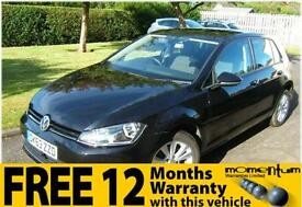 VW Volkswagen Golf 2.0TDI 150ps s/s SE 2013 63 plate with 20k miles
