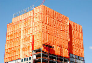 Insulated Construction Tarps for Rent