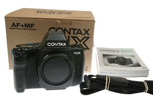 CONTAX NX Camera Body with 28-80mm 3.5-5.6 Vario-Sonnar Carl Zei
