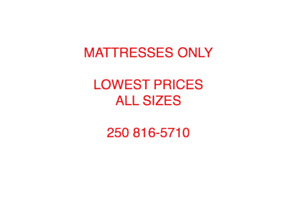 LOWEST MATTRESS PRICES IN NANAIMO