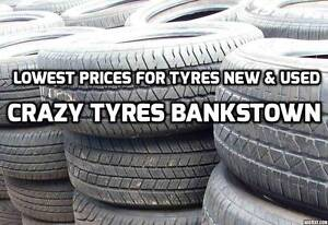 4 used tyres to fit holden astra or vectra or barina or viva Bankstown Bankstown Area Preview