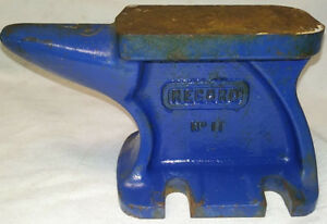 Vintage RECORD Solid Iron Anvil No 11 Made in England