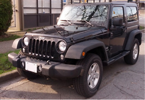 2015 Jeep Wrangler Sport - one owner