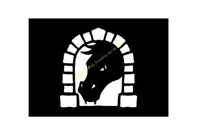 HALLOWEEN STENCIL Dragon Door A5/A4/A3/A2/A1/A0 350 micron HALL069](Dorm Door Decorations Halloween)