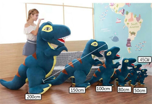 79 Super Giant Large Dinosaurs Rex Plush Stuffed Toys Kids Soft