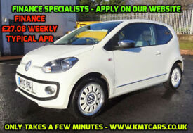2013 Volkswagen up! 1.0 (75ps) Up White - 27000mls - KMT Cars