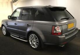 2010 GREY RANGE ROVER SPORT 3.0 TDV6 HSE AUTO DIESEL CAR FINANCE FR £58 PW