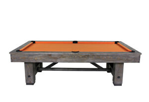"NEW 1"" Slate Pool Tables showroom located in Guelph! On Display"
