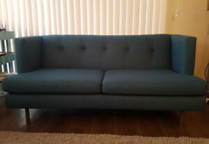 CB2 (Avec - peacock blue) Sofa