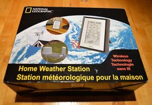 HOME WEATHER STATION (NATIONAL GEOGRAPHIC NEW IN BOX)