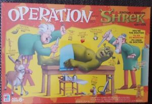 Operation Board Game - Shrek  Collector Edition