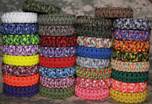 Paracord Survival Bracelets, Lanyards, Zipper Pulls & Key Fobs