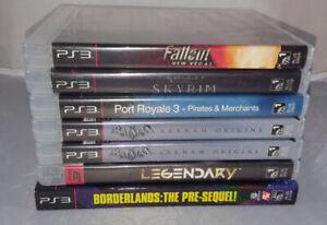 Various Playstation 3 Games - Starting at $3.00