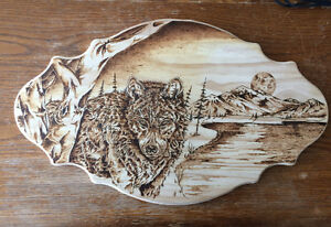 Custom Wood Burning Art - Pyrography Belleville Belleville Area image 2
