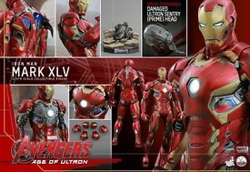 HOT TOYS IRON MAN MK 45 1/4 SPECIAL EDITION