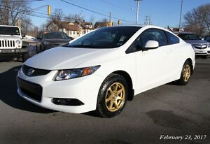 2013 Honda Civic EXL Navi Coupe (2 door)