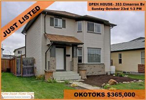 PERFECT 4 BED OKOTOKS FAMILY HOME- OPEN HOUSE SUNDAY 1-3PM!