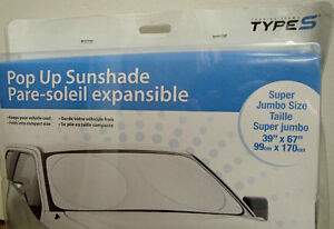 Sun Shade: pop-up super jumbo size
