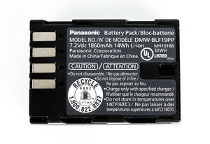 GENUINE PANASONIC BATTERY DMW-BLF19 (GH3/GH4)