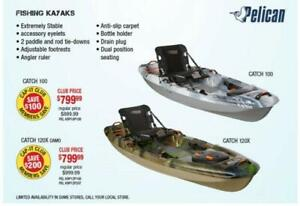 Fishing Kayak Sales Event at Cap-it Cranbrook