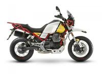 Moto Guzzi V85 Sahara Yellow E4 Available NOW 9499 Deposit now for March 1st