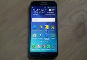 samsung galaxy s6,presq neuf,32G,16MP,ANDROID,fonctionnel,wow