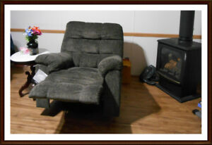 Acieona SWIVEL ROCKER RECLINER New! Chwk