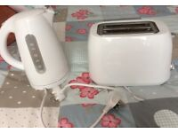 Electric toaster & electric kettle