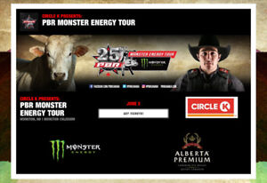 Two tickets to the Professional Bull Riding.