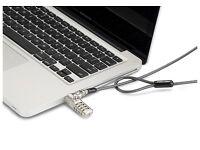 Combination laptop lock