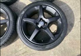 4x100 alloy wheels. Vauxhall/peugeot/fiat/citreon