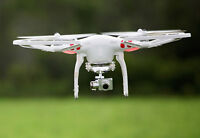 DJI Phantom Vision 2+ with 3 Batteries, Prop Guards and extras!!