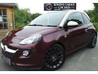 2013 63 VAUXHALL ADAM 1.4 GLAM 3D - 2 OWNERS - LOW MILES - 4 SERVICES- HUGE SPEC