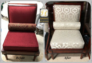 Sofas and chairs Reupholstery Service