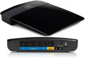 Linksys E1200 N300 Single Band Router updated/flashed to DD-WRT