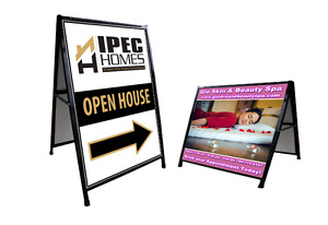 ***2-Sided Sandwich Sign Printing for $140***