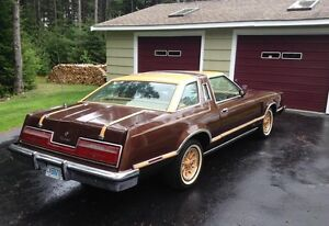 1978 Ford thunderbird two door hard top