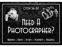Wedding/Portrait/Event Photographer! Proffessional - Qualified - Affordable