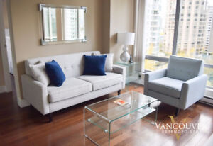 GW1001- Furnished One Bedroom Apartment near Robson