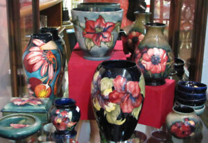 Assorted Moorcroft Pottery
