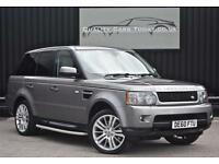 Range Rover Sport 3.0 TDV6 HSE * Stornoway Grey + Ivory Leather*