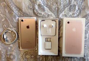 Rose Gold iPhone 7 - Koodo or Telus - 34GB - USED 2.5 MONTHS