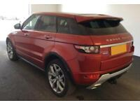 2015 RED RANGE ROVER EVOQUE 2.2 SD4 190 AUTOBIOGRAPHY 4WD CAR FINANCE FR £113 PW
