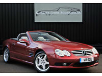 Mercedes SL 55 AMG V8 * Amber Red + Panoramic Roof + Very Special Car*