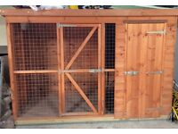 Brand new Dog Kennel with indoor lights for sale £300