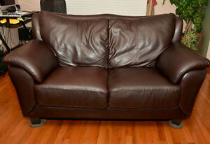love seat and chair plus ottoman