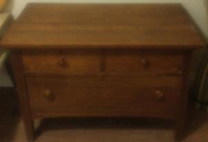Old Oak Dresser $75